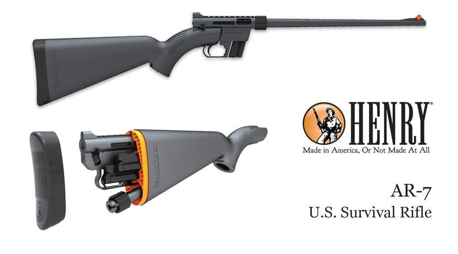Henry U.S. Survival  rifle AR-7 (BLACK)
