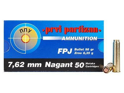 Prvi Partizan 7.62 Nagant 98 gr FPJ (50 Rounds)