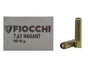 Fiocchi 7.62 Nagant 98gr FMJ (50 Rounds)
