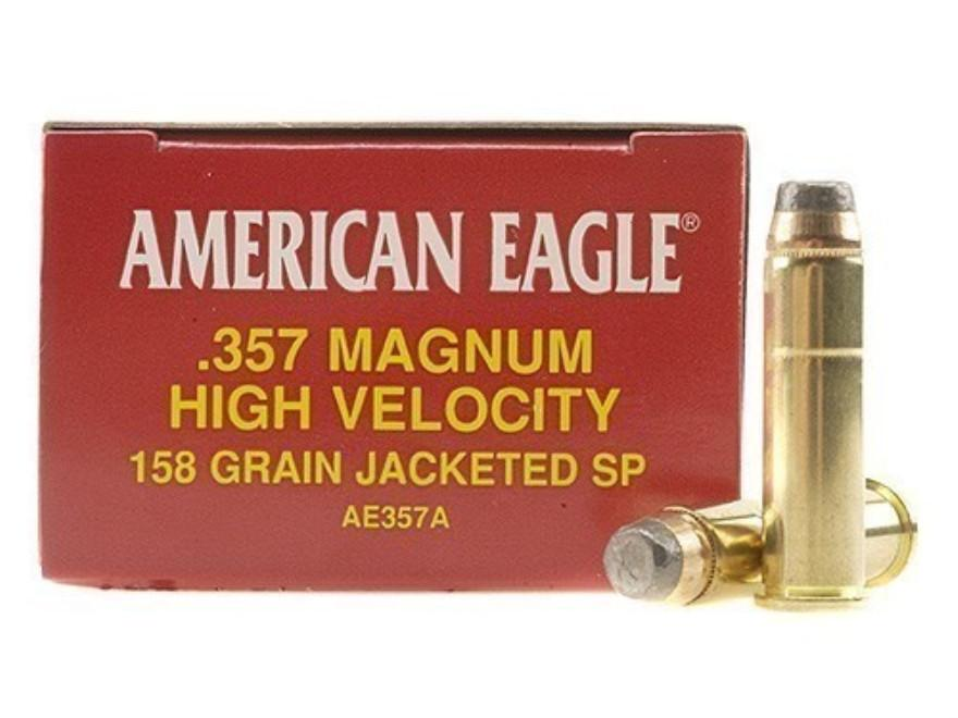 American Eagle .357 magnum Jacketed soft point (50 rounds)