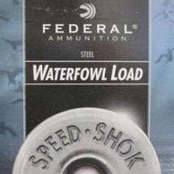 "Federal Speed-Shok Waterfowl Load 12 Gauge 3"" 1 1/8 Oz. #3 Shot (25 Shells)"