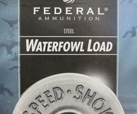 "Federal Speed-Shok Waterfowl Load 12 Gauge 3"" 1 1/8 Oz. #3 Shot (25 Shells)"