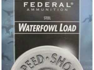"Federal Speed-Shok 12 Gauge2 3/4"" 1 1/8 Oz. BB (25 Shells)"