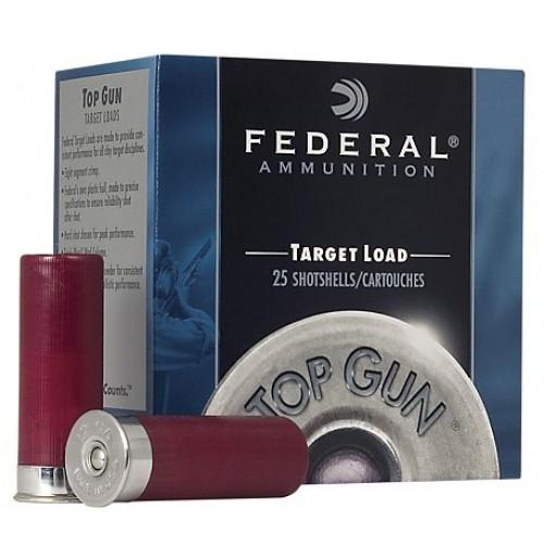 "Federal Target Load 12 Ga 2 3/4"" #7.5 Shot (25 Shells)"