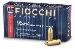 Fiocchi 9mm Makarov 95 gr FMJ (50 Rounds)