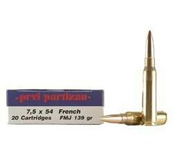 Prvi Partizan 7.5x54 French 139gr FMJ (20 Rounds)