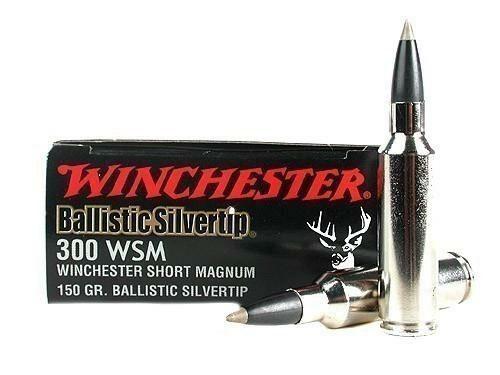Winchester Supreme Basllistic Silvertip 300 Winchester Short Magnum 150 gr (20 Rounds)