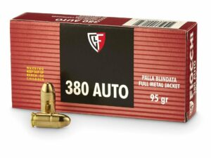 Fiocchi 380 ACP 95 Grain Full Metal Jacket Box of 50
