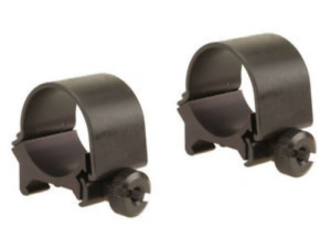 "Weaver detachable top mount rings 1"" low matte black"