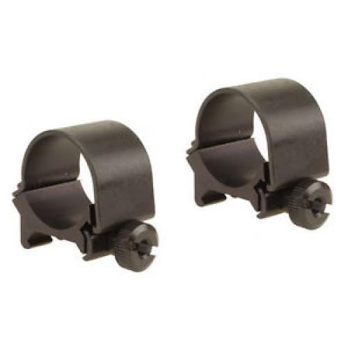 "Weaver detachable top mount rings 1"" low matte black"