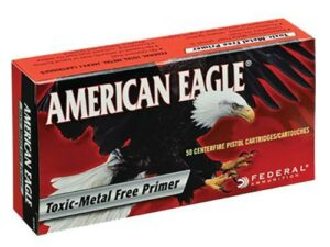 Case of American Eagle Ammunition 40 S&W 180 Grain Total Metal Jacket - Toxic Metal Free Primer (1000X)