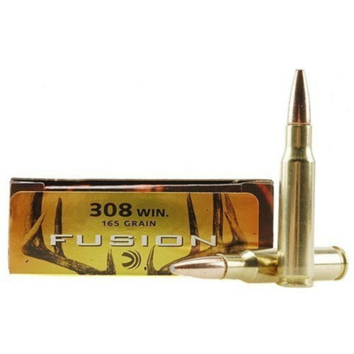 Federal Fusion 308 Winchester 165 Gr.
