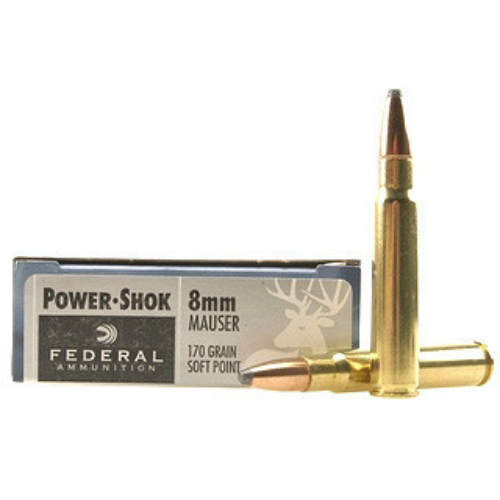 Federal 8mm Mauser 170 gr. Soft Point (20 rounds)