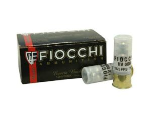 "Fiocchi 12 Gauge 2-3/4"" 00 Buckshot 9 Nickel Plated Pellets Box of 10"