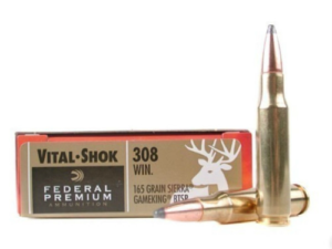 Federal Premium Vital-Shock .308 Win 165 Gr Sierra Game King BTSP (20 Rounds)