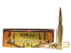 Federal Fusion 308 Winchester 180 Gr.