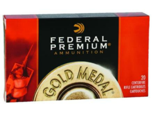 Federal Premium Gold Medal .300 Win Mag 190gr Sierra Matchking BTHP (20 Rounds)