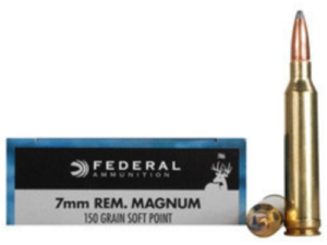 Federal 7mm Rem. Magnum 150 gr SP (20 rounds)