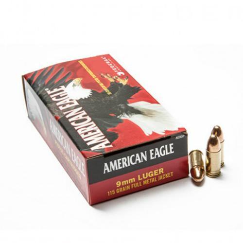 American Eagle 9mm 115 gr FMJ (Case of 1000)