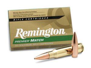 Remington Premier Match 308 WIN 168 Gr MatchKing BTHP