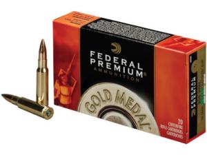 Federal Premium Gold Medal .308 Win 168gr Sierra Matchking BTHP (20 Rounds)
