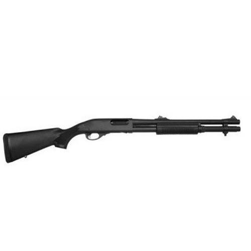 "Remington 870 Police Magnum with 18"" Barrel and Rifle Sights, EXT2"
