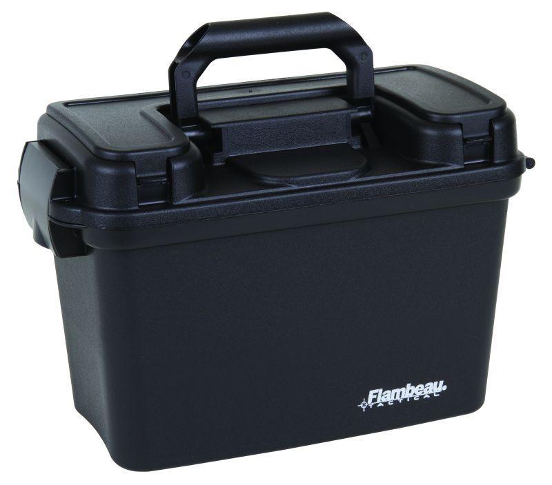 "Flambeau 14"" Tactical Dry Box, Black"