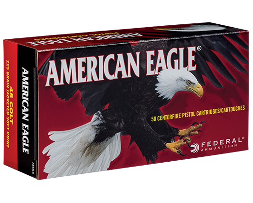 American Eagle 45 Colt Jacketed Soft Point (Box of 50 Rounds)
