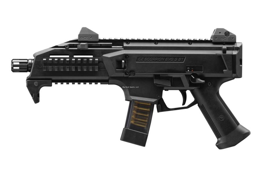 CZ Scorpion EVO 3 S1 9mm Pistol/Carbine Combo