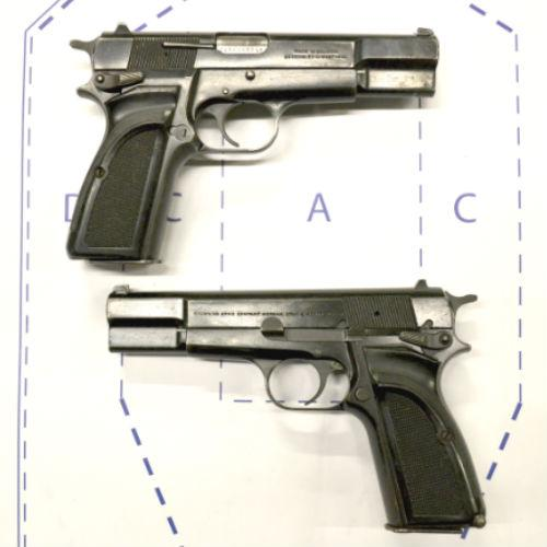 Browning Hi Power MK3- Surplus Shooter grade - 9mm