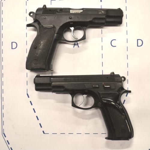 CZ 75B - Surplus Shooter grade - 9mm