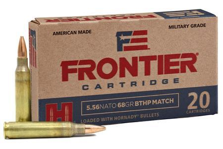 5.56 NATO 68 gr BTHP Match - Frontier (20 Rounds)