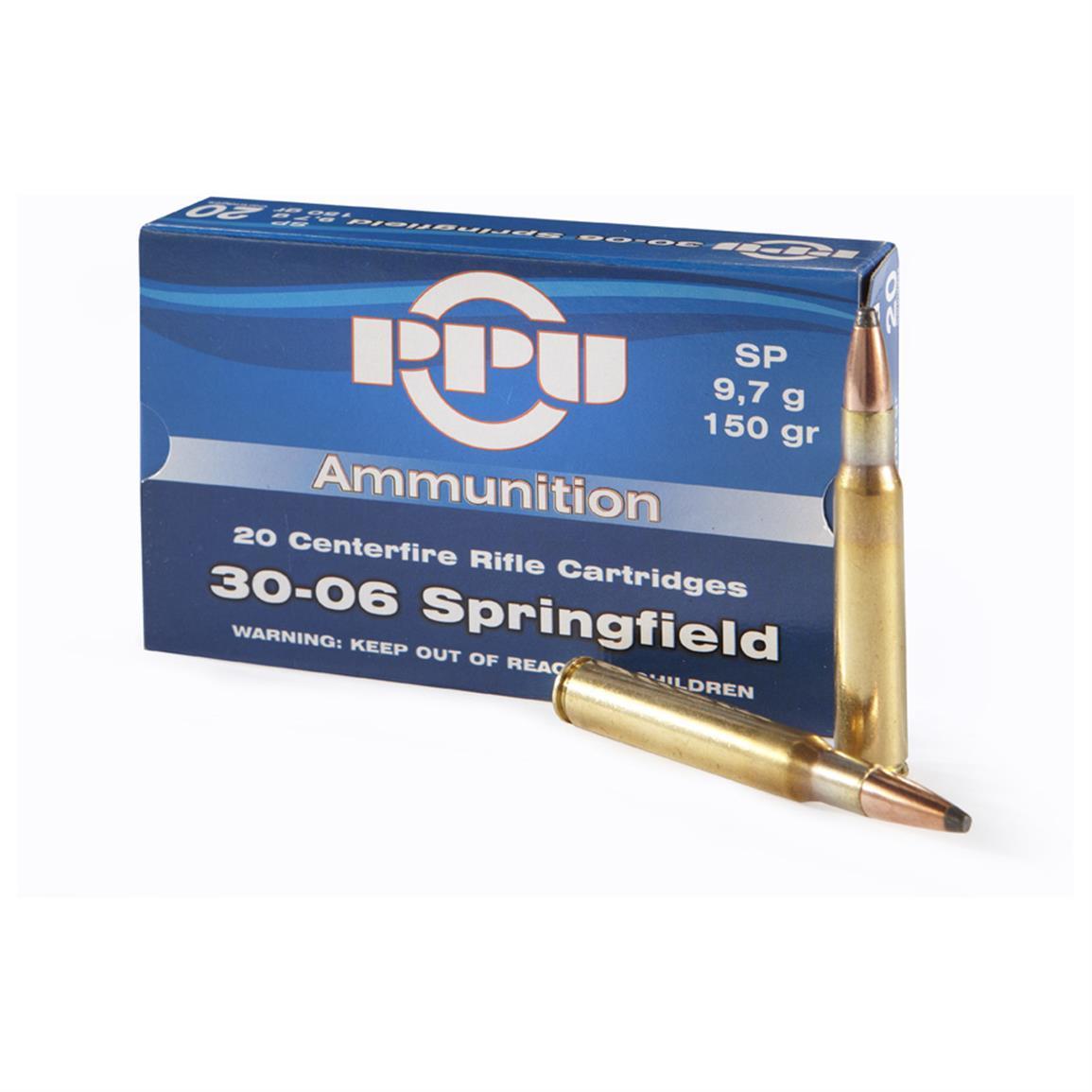 PPU .30-06 Springfield 150 gr SP