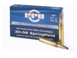 PPU .30-06 Springfield 165 gr SP