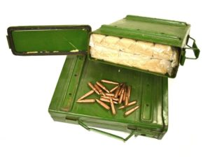 "1000 rounds of Chinese military surplus ""Commando Packs"" Ammo Can - 7.62x39 FMJ"